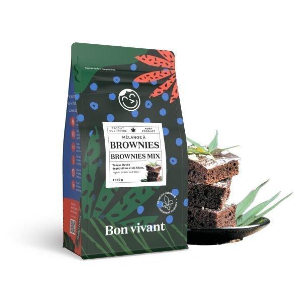 Mélange à brownies au chanvre Bon vivant