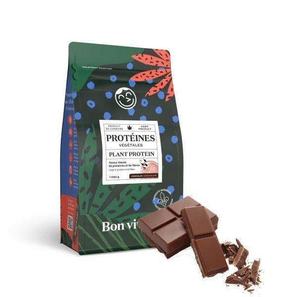 Protéine Bon vivant au chanvre et chocolat
